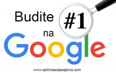 Kako poboljsati poziciju sajta na Google