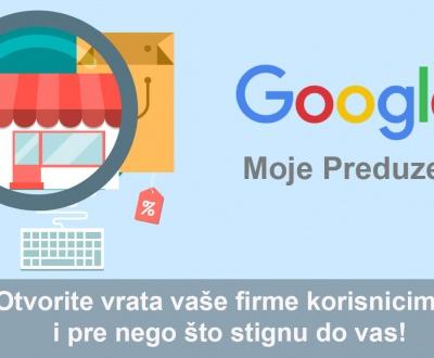 google moje preduzeće
