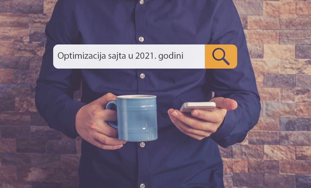optimizacija sajta u 2021. godini
