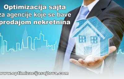 Optimizacija sajta za agencije koje se bave prodajom nekretnina