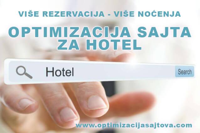 optimizacija sajta za hotel