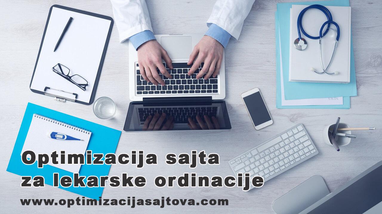 optimizacija sajta za lekarsku ordinaciju