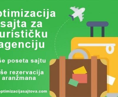 Optimizacija sajta za turističku agenciju